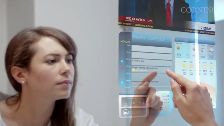 Photovoltaics Glass Futuristic Vision