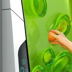 Futuristic Electrolux Bio Robot Refrigerator