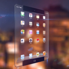 Apple inspires again with Transparent iPad concept