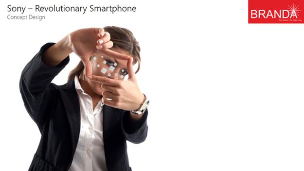 Sony Revolutionary Transparent Smartphone 9