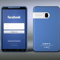 Facebook Phone : Most Awaiting Blue Facebook Phone