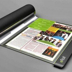 eRoll : Flexible Paper Thin Screen