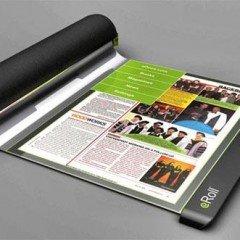 eRoll : Flexible Paper Thin Screen