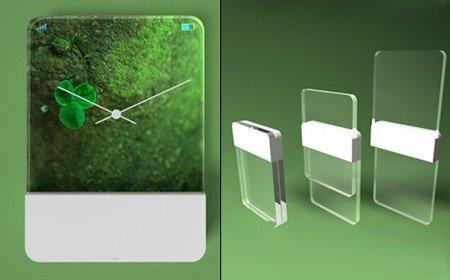 MAC : Glass Phone Style Design