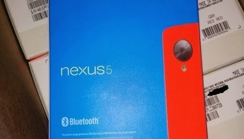 News for Red Nexus 5 launching  4th February 2014
