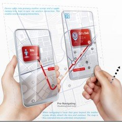 Transparent Space Concept Smart Phone