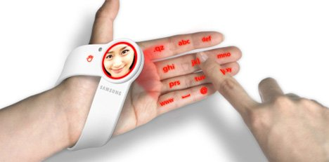 Finger Touching Wearable Mobile Device