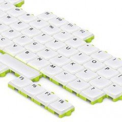 Puzzle Keyboard Concept