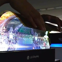 LG  : Flexible 18-Inch Display Concept