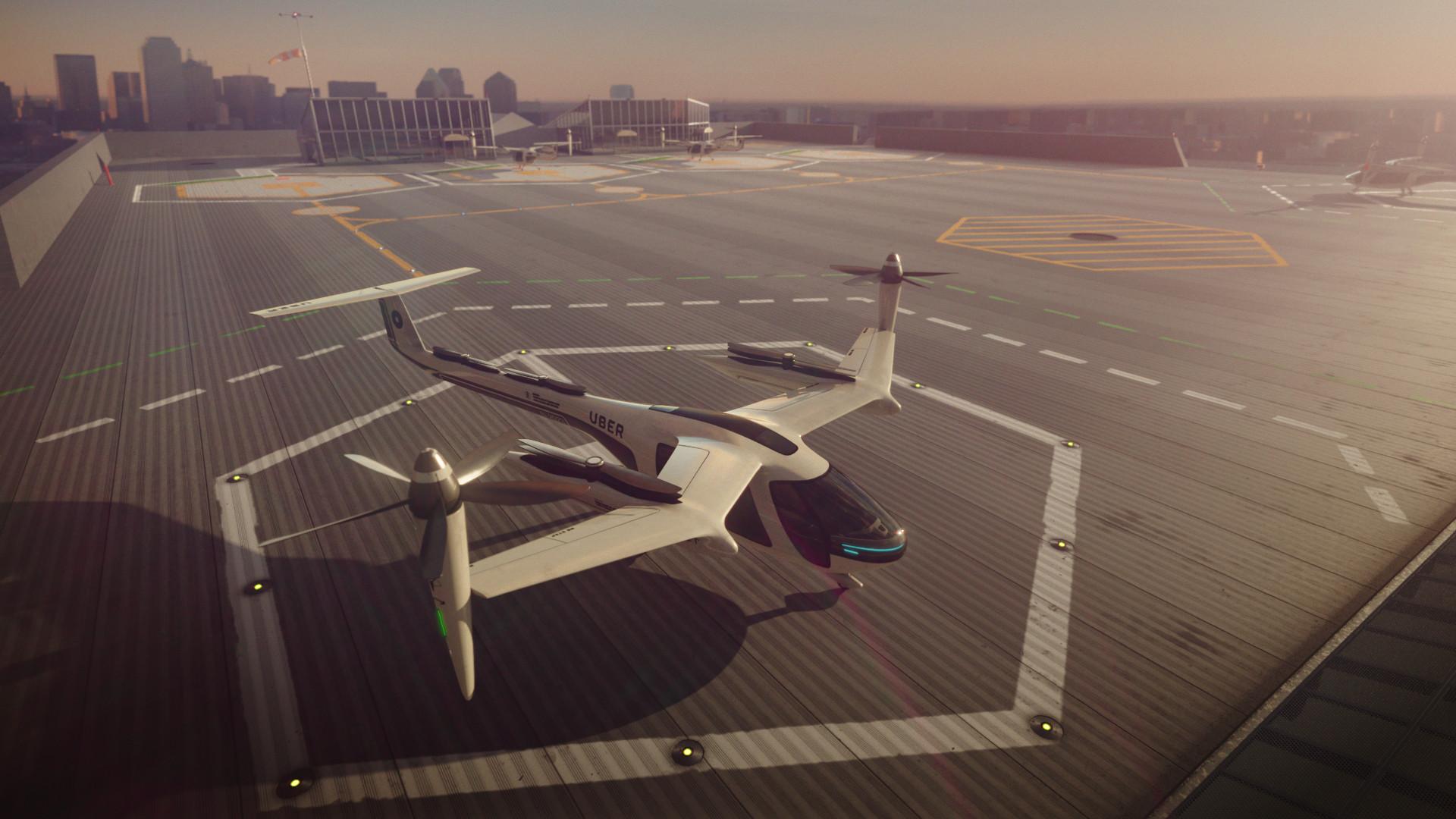 uber flying cars 2020 in dallas